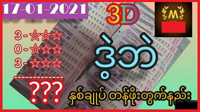 Thai Lottery 3d tips 17 January 2021