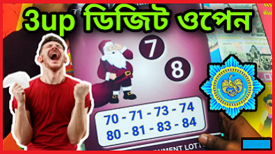 Thailand Lottery 3Up Non Miss Pair Open 17/01/2021