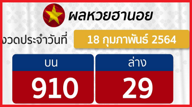 Lao Lottery Result 18 feb 2021