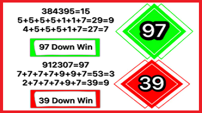 Thai Lotto 3UP Direct Set 2Down Single Pairs 1st March 2021