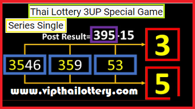 Thai Lottery 3UP Special Game Series Single Digit 16-3-2021