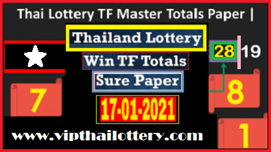 Thailand Lottery Win TF Totals Sure Paper 16-03-2021