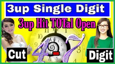 Thai Lotto Nirob Tips 3up Single Digit Open & Cut Digit Open 01/08/2564