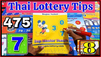 Thai lotto single digit pair total 3D total formula 16th September 2564