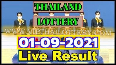 Thailand Lottery Results 01-09-2021 Today Live Update